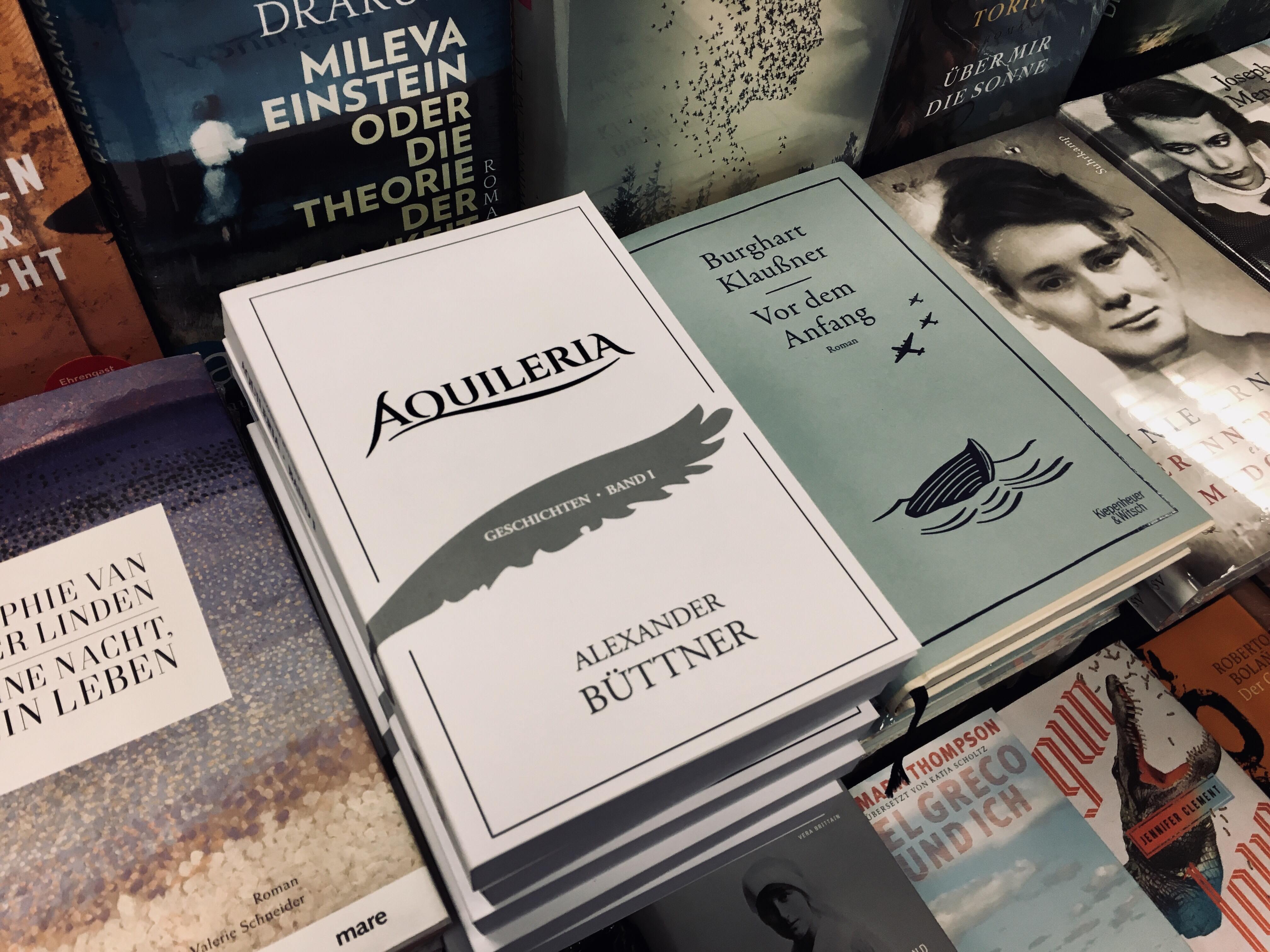 AQUILERIA Band I in der Buchhandlung Lessing und Kompanie